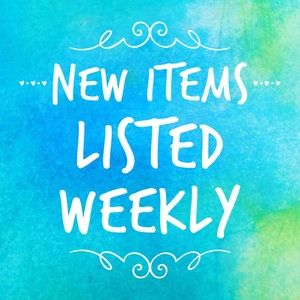 Every week 💙New items are posted in my closet!